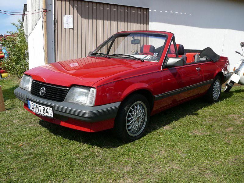 Opel Ascona кабриолет, 3 поколение [2-й рестайлинг] - отзывы, фото и характеристики на Car.ru