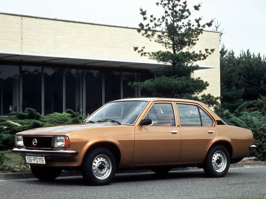 Opel Ascona седан 4-дв., 1975–1981, B - отзывы, фото и характеристики на Car.ru