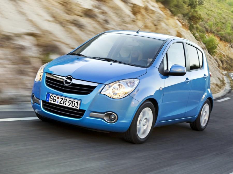 Opel Agila хетчбэк, 2008–2016, 2 поколение - отзывы, фото и характеристики на Car.ru
