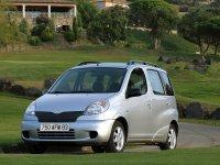 Toyota Yaris Verso, 1 поколение, Минивэн