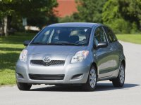 Toyota Yaris, XP9 [рестайлинг], Хетчбэк 3-дв., 2009–2012