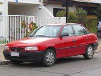 Opel Astra, F [рестайлинг], Седан, 1994–2002