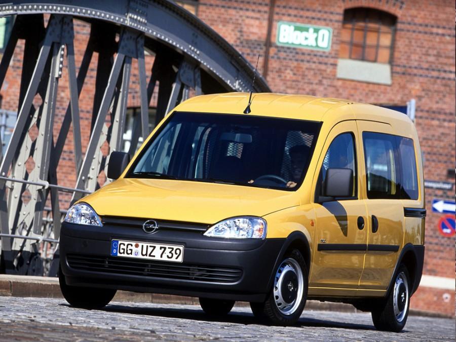 Opel Combo Tour минивэн, 2001–2005, C - отзывы, фото и характеристики на Car.ru