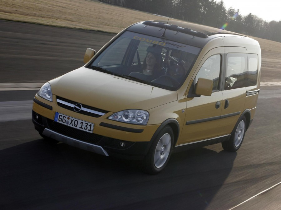 Opel Combo Tour Tramp минивэн 5-дв., 2005–2011, C [рестайлинг] - отзывы, фото и характеристики на Car.ru