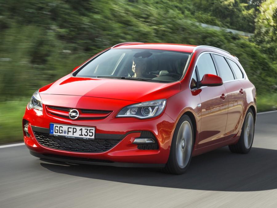 Opel Astra BiTurbo Sports Tourer универсал 5-дв., 2012–2016, J [рестайлинг] - отзывы, фото и характеристики на Car.ru
