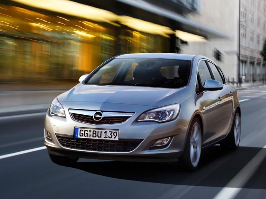 Opel Astra хетчбэк 5-дв., 2009–2015, J - отзывы, фото и характеристики на Car.ru