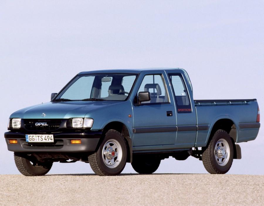 Opel Campo Sportscab пикап 2-дв., 1997–2001, 1 поколение [рестайлинг] - отзывы, фото и характеристики на Car.ru