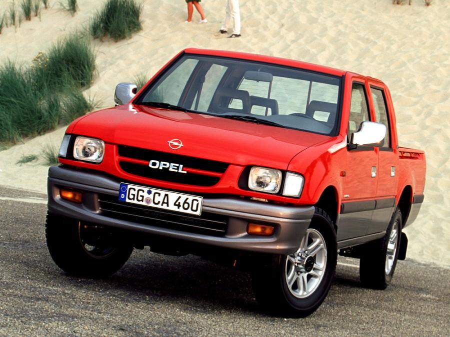 Opel Campo пикап, 1997–2001, 1 поколение [рестайлинг] - отзывы, фото и характеристики на Car.ru