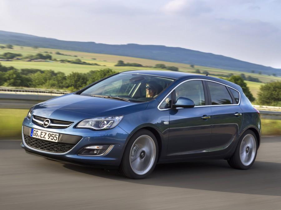 Opel Astra хетчбэк 5-дв., 2012–2016, J [рестайлинг] - отзывы, фото и характеристики на Car.ru