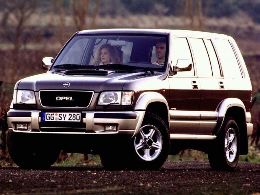 Opel Monterey внедорожник 5-дв., 1998–1999, 1 поколение [рестайлинг] - отзывы, фото и характеристики на Car.ru