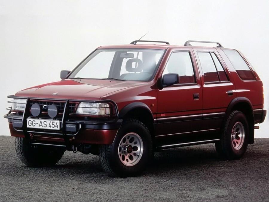 Opel Frontera внедорожник 5-дв., 1992–1998, A - отзывы, фото и характеристики на Car.ru