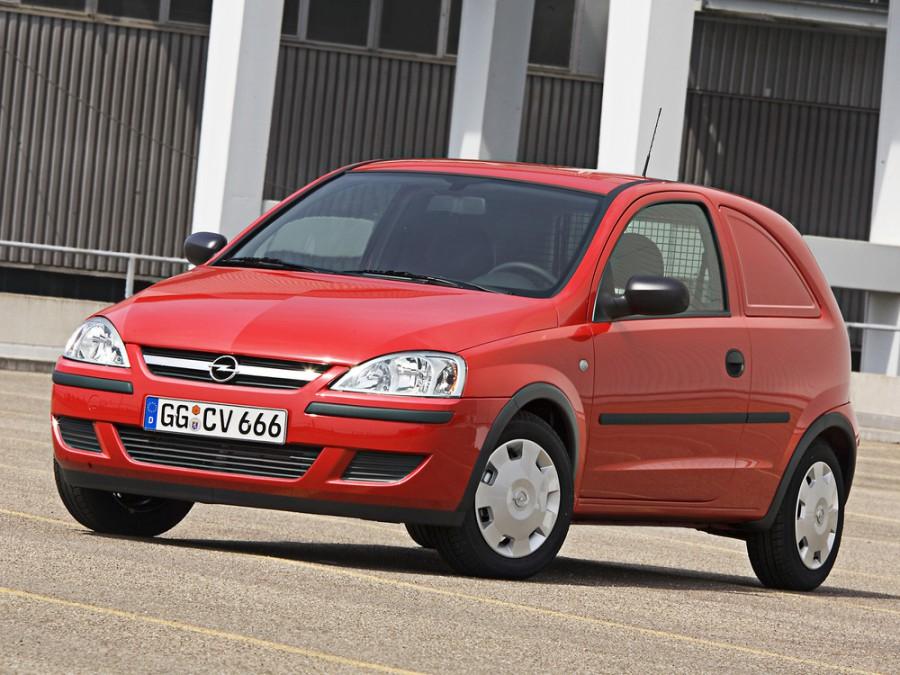 Opel Corsa Van фургон, 2003–2006, C [рестайлинг] - отзывы, фото и характеристики на Car.ru