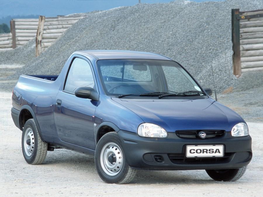 Opel Corsa пикап, 1997–2000, B [рестайлинг] - отзывы, фото и характеристики на Car.ru