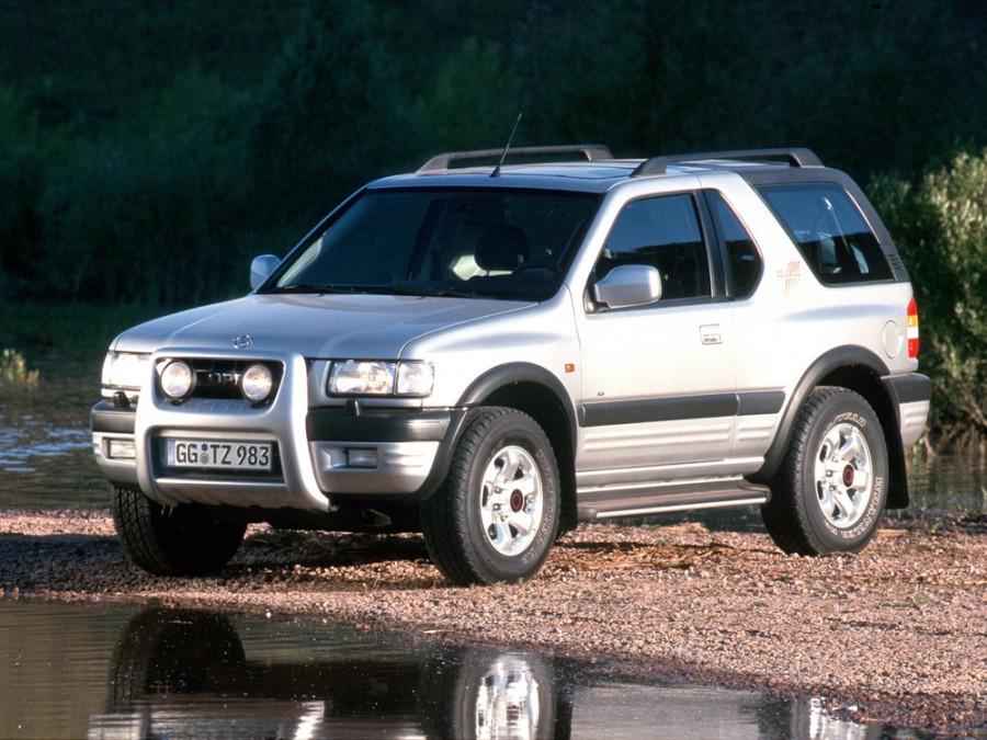 Opel Frontera Sport внедорожник 3-дв., 1998–2004, B - отзывы, фото и характеристики на Car.ru