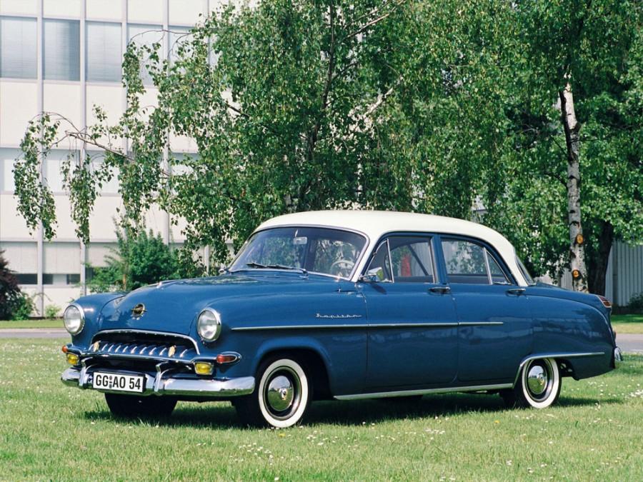 Opel Kapitan седан, 4 поколение - отзывы, фото и характеристики на Car.ru