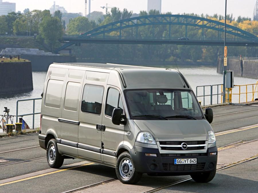 Opel Movano Combi фургон 5-дв., 2003–2010, 1 поколение [рестайлинг] - отзывы, фото и характеристики на Car.ru