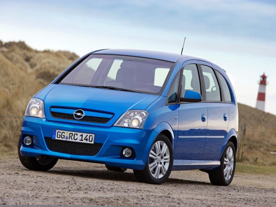 Opel Meriva OPC минивэн 5-дв., 2004–2010, 1 поколение [рестайлинг] - отзывы, фото и характеристики на Car.ru