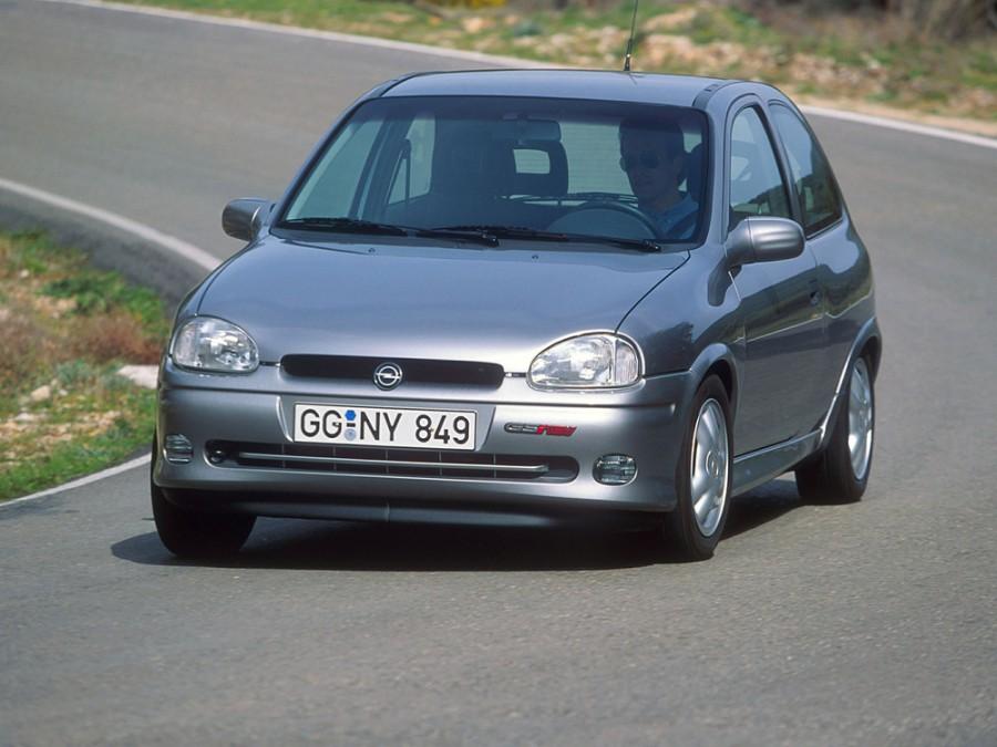 Opel Corsa GSi хетчбэк 3-дв., 1993–2000, B - отзывы, фото и характеристики на Car.ru