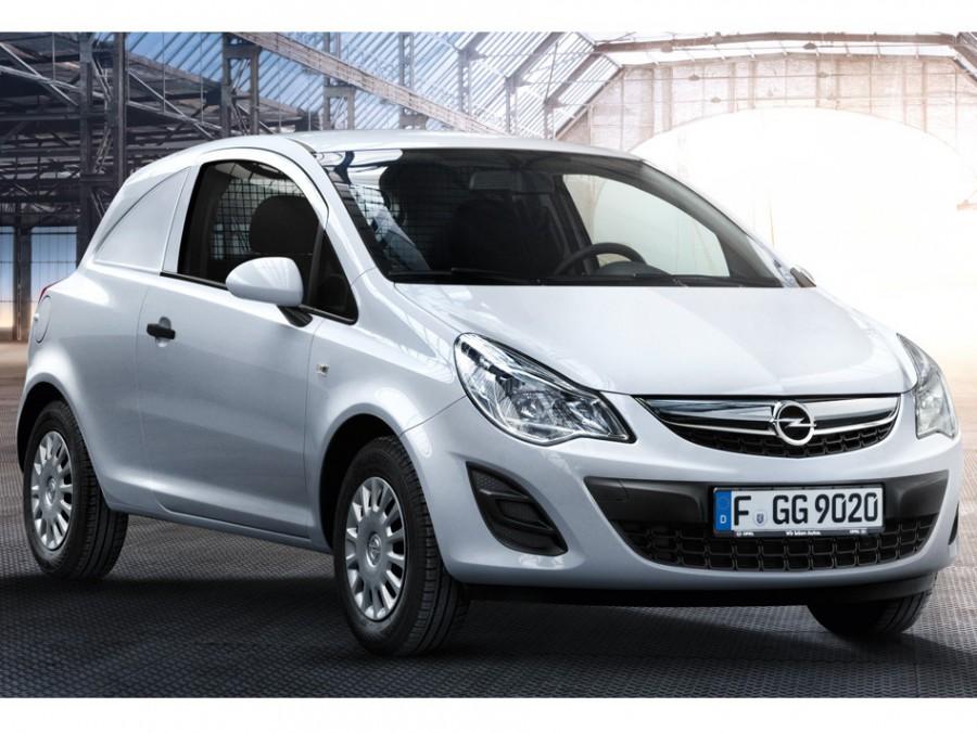 Opel Corsa Van фургон, 2010–2016, D [рестайлинг] - отзывы, фото и характеристики на Car.ru