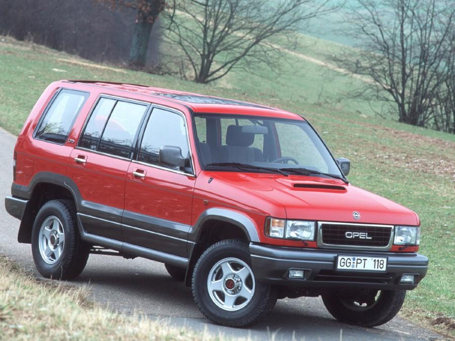 Opel Monterey внедорожник 5-дв., 1992–1998, 1 поколение - отзывы, фото и характеристики на Car.ru