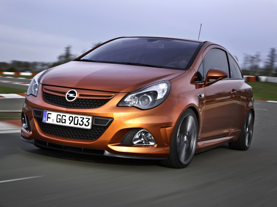 Opel Corsa OPC хетчбэк 3-дв., 2010–2016, D [рестайлинг] - отзывы, фото и характеристики на Car.ru