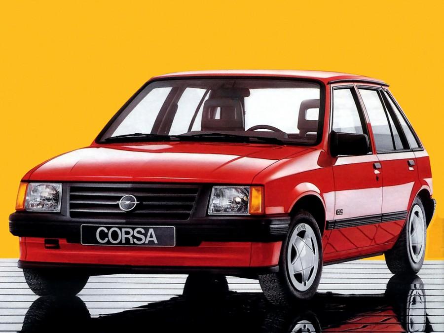 Opel Corsa хетчбэк 5-дв., 1982–1993, A - отзывы, фото и характеристики на Car.ru