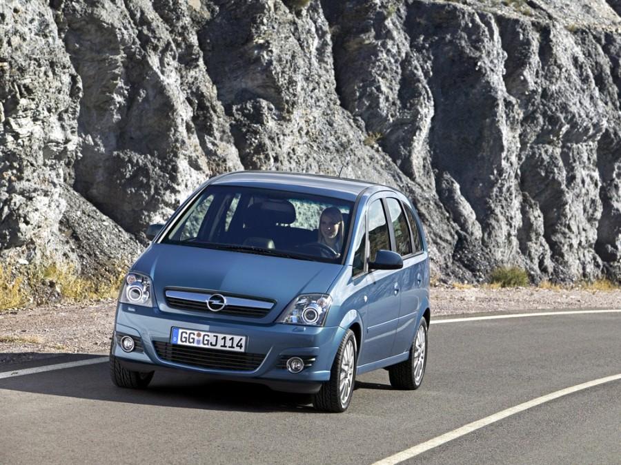 Opel Meriva минивэн 5-дв., 2004–2010, 1 поколение [рестайлинг] - отзывы, фото и характеристики на Car.ru