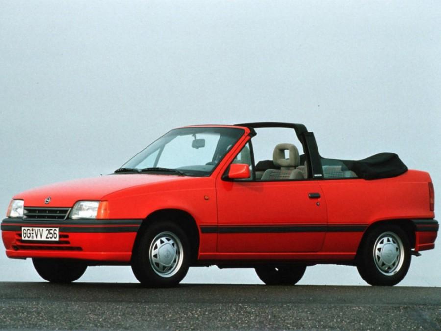 Opel Kadett кабриолет, E [рестайлинг] - отзывы, фото и характеристики на Car.ru