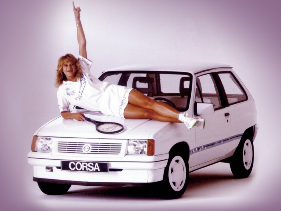 Opel Corsa Steffi Graf Special хетчбэк 3-дв., A [рестайлинг] - отзывы, фото и характеристики на Car.ru