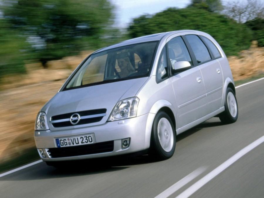 Opel Meriva минивэн, 2002–2006, 1 поколение - отзывы, фото и характеристики на Car.ru