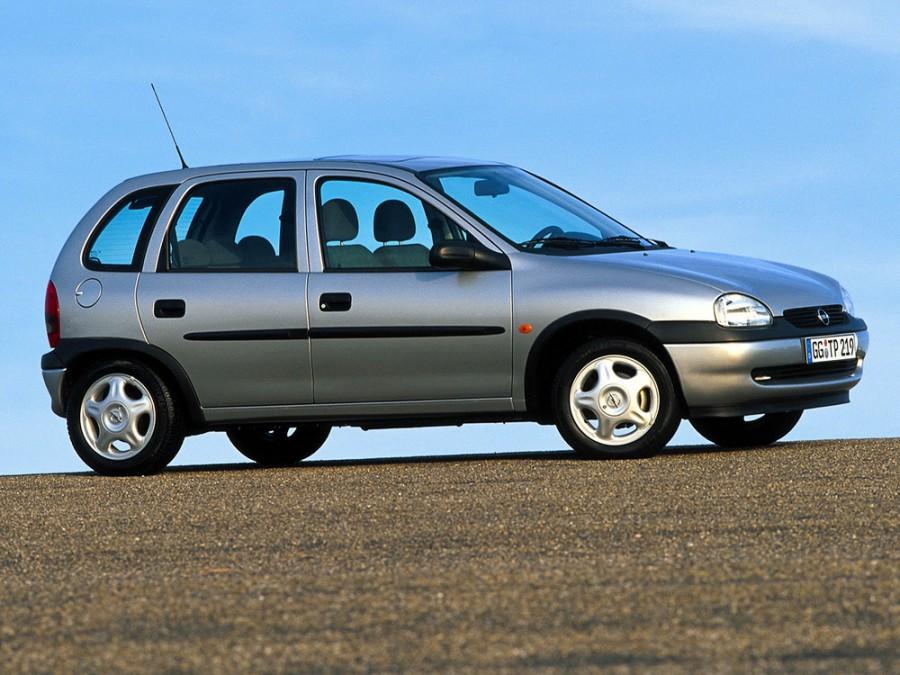 Opel Corsa хетчбэк 5-дв., 1997–2000, B [рестайлинг] - отзывы, фото и характеристики на Car.ru