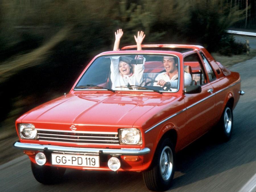 Opel Kadett Aero тарга, 1972–1979, C - отзывы, фото и характеристики на Car.ru