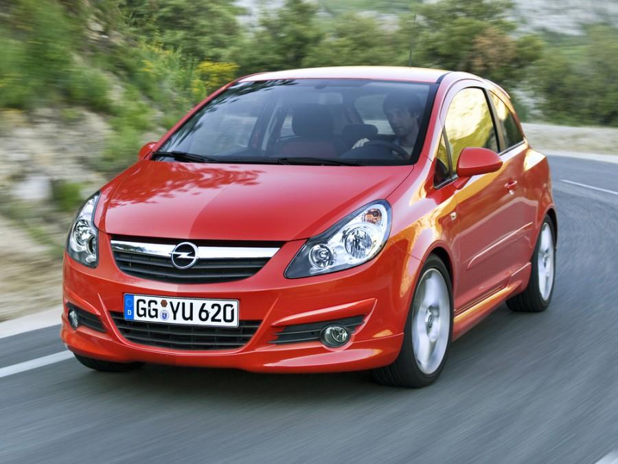 Opel Corsa GSi хетчбэк 3-дв., 2006–2011, D - отзывы, фото и характеристики на Car.ru