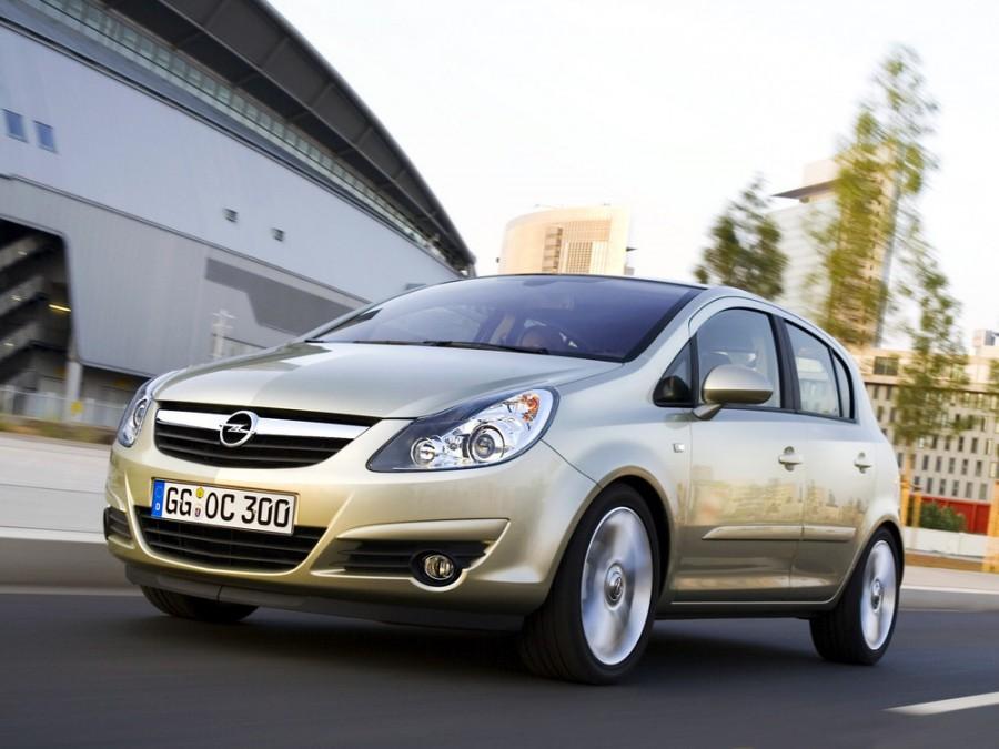 Opel Corsa хетчбэк 5-дв., 2006–2011, D - отзывы, фото и характеристики на Car.ru