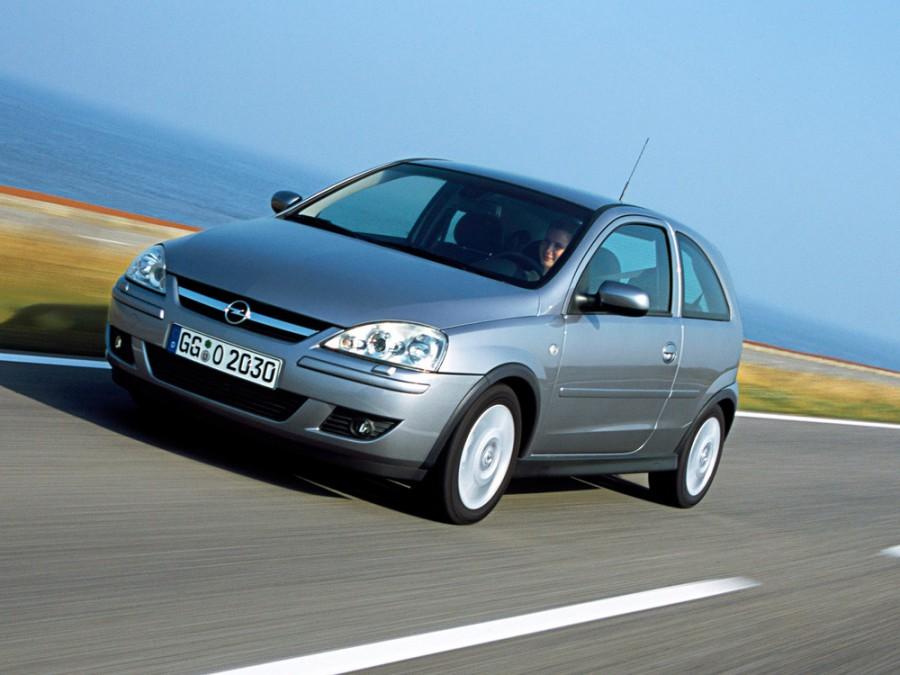 Opel Corsa хетчбэк 3-дв., 2003–2006, C [рестайлинг] - отзывы, фото и характеристики на Car.ru