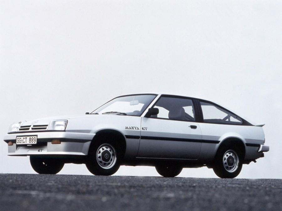 Opel Manta CC хетчбэк, 1982–1988, B [рестайлинг] - отзывы, фото и характеристики на Car.ru