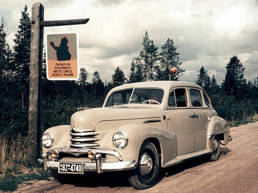 Opel Kapitan седан, 3 поколение - отзывы, фото и характеристики на Car.ru