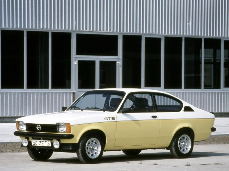 Opel Kadett GT/E купе 2-дв., C [рестайлинг] - отзывы, фото и характеристики на Car.ru