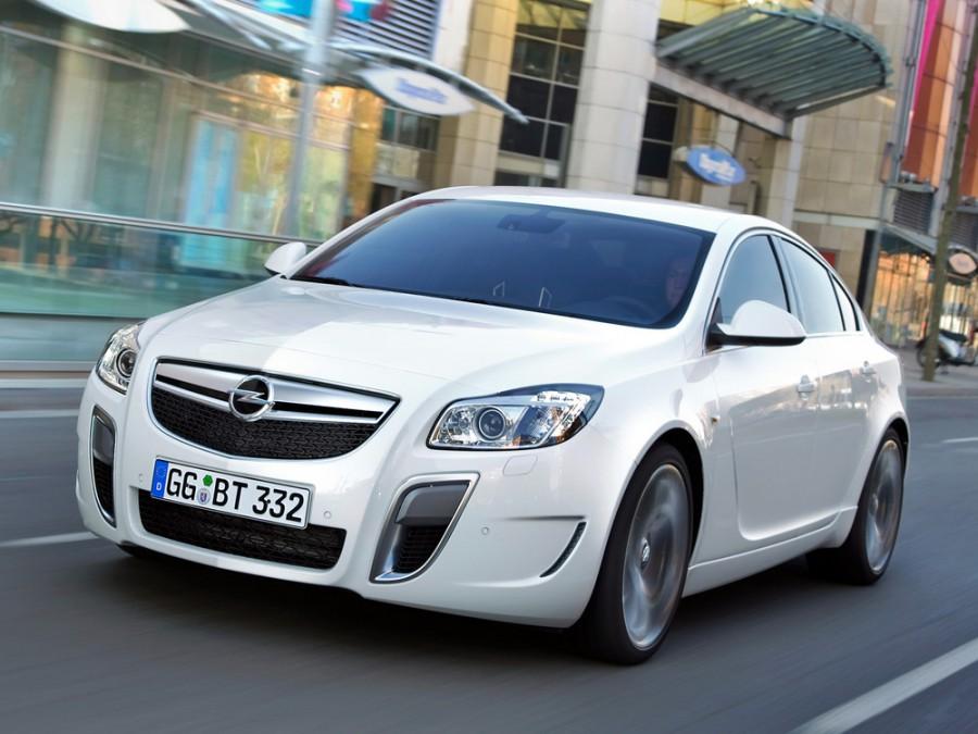 Opel Insignia OPC седан 4-дв., 2008–2016, 1 поколение - отзывы, фото и характеристики на Car.ru