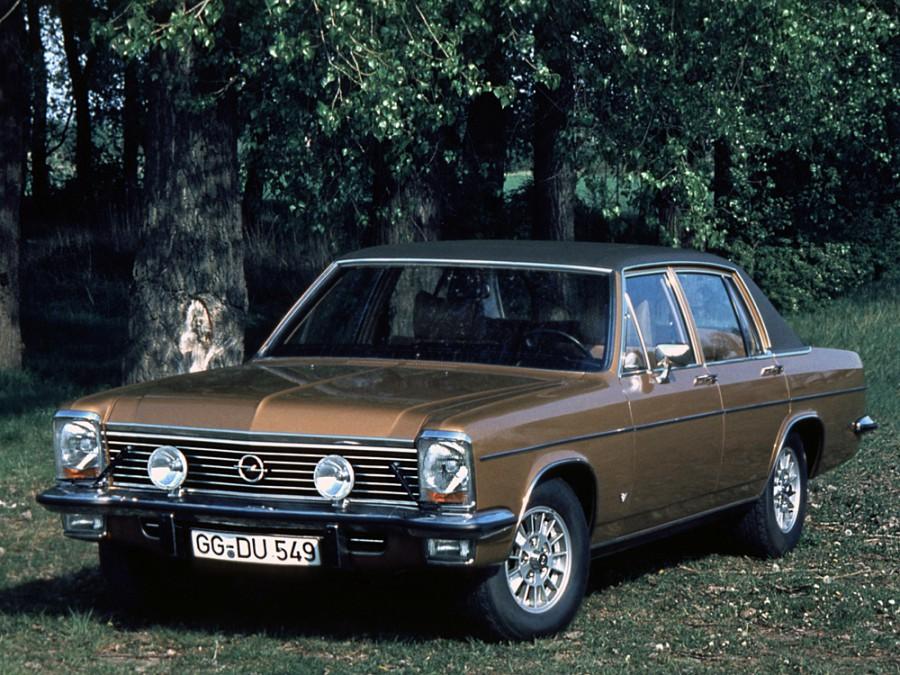 Opel Diplomat седан, 1969–1977, B - отзывы, фото и характеристики на Car.ru