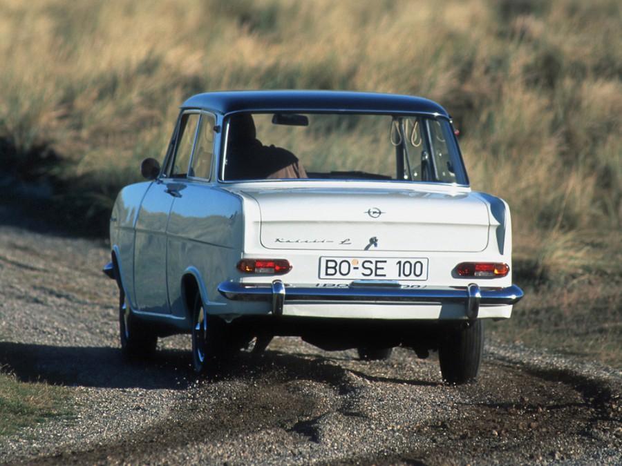Opel Kadett L седан 2-дв., A - отзывы, фото и характеристики на Car.ru