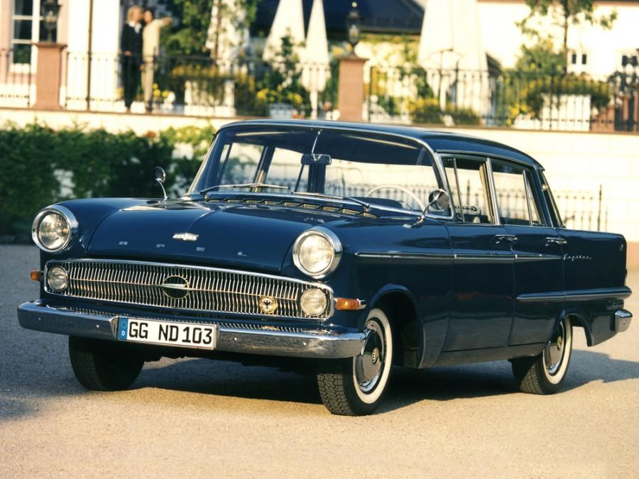 Opel Kapitan седан, P2 - отзывы, фото и характеристики на Car.ru