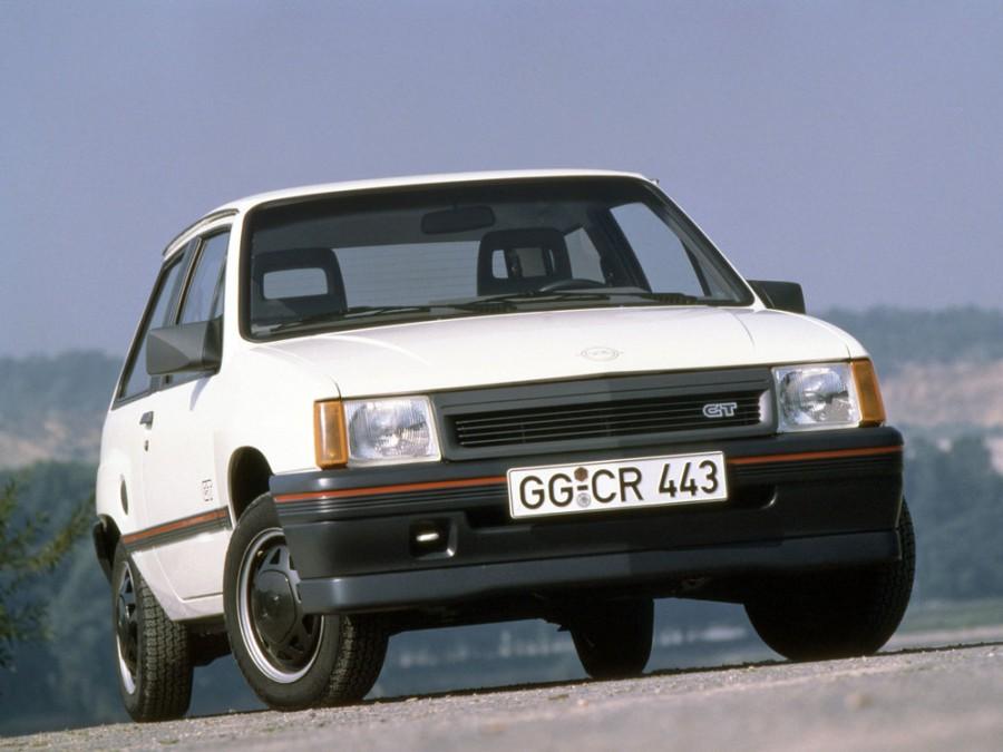 Opel Corsa GT хетчбэк 3-дв., 1982–1993, A - отзывы, фото и характеристики на Car.ru