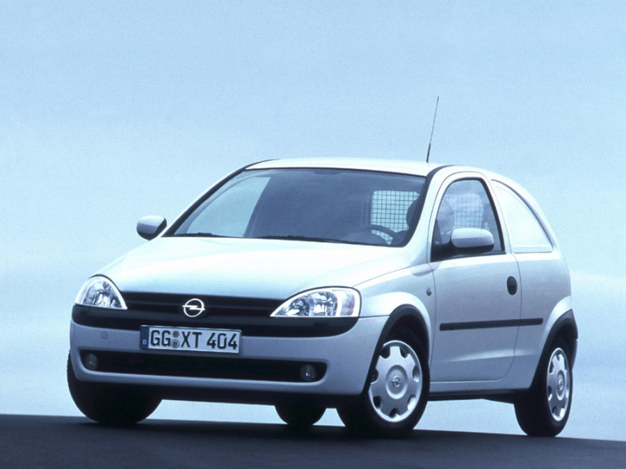 Opel Corsa фургон 2-дв., 2000–2003, C - отзывы, фото и характеристики на Car.ru
