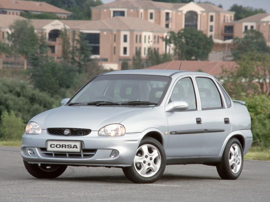 Opel Corsa седан, 1997–2000, B [рестайлинг] - отзывы, фото и характеристики на Car.ru