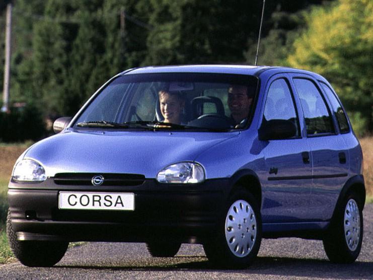 Opel Corsa хетчбэк 5-дв., 1993–2000, B - отзывы, фото и характеристики на Car.ru