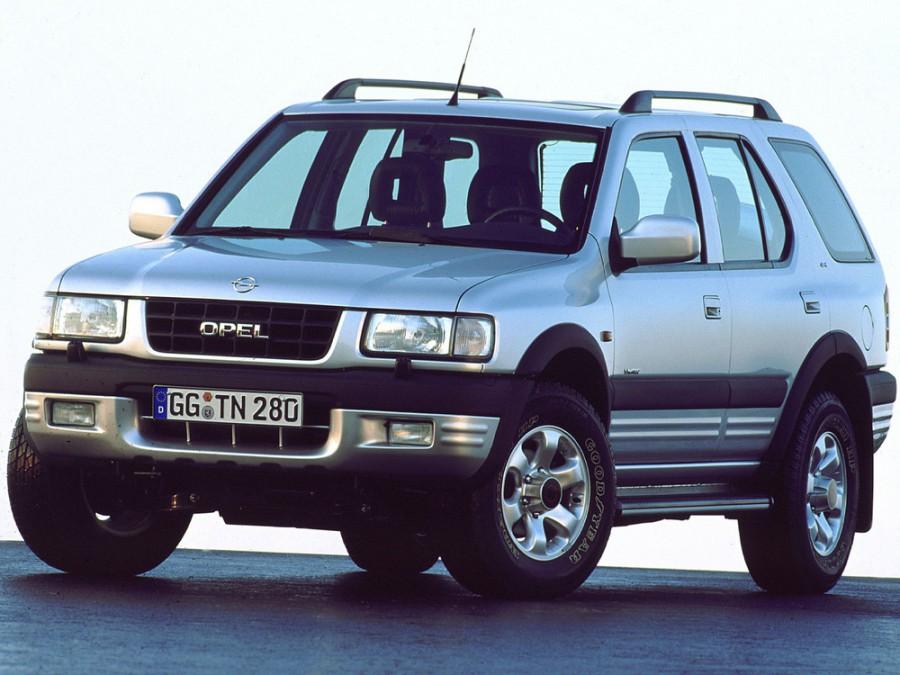 Opel Frontera внедорожник 5-дв., 1998–2004, B - отзывы, фото и характеристики на Car.ru
