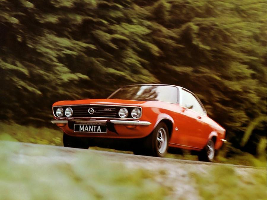 Opel Manta купе, 1970–1975, A - отзывы, фото и характеристики на Car.ru