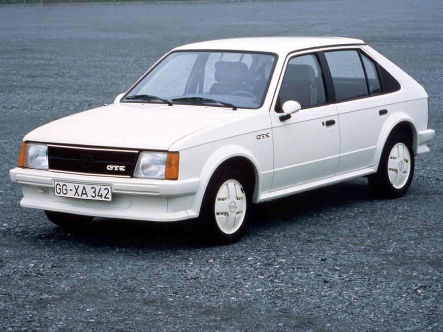 Opel Kadett GT/E хетчбэк 5-дв., 1979–1984, D - отзывы, фото и характеристики на Car.ru