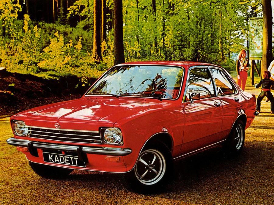 Opel Kadett седан 4-дв., 1972–1979, C - отзывы, фото и характеристики на Car.ru